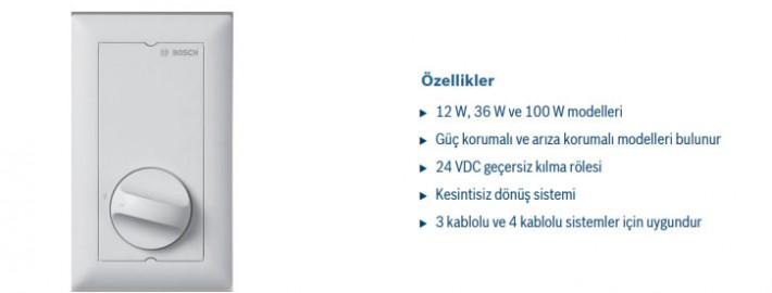 BOSCH LBC142010 SES KONTROL ÜNİTESİ 100W