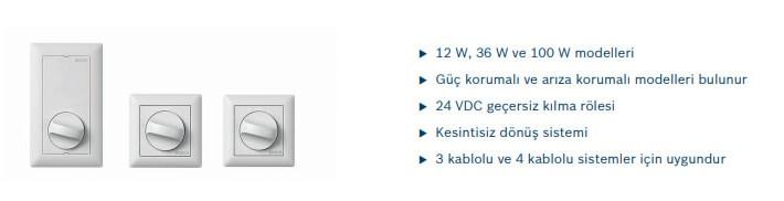 BOSCH LBC143110 SES KONTROL ÜNİTESİ KANAL SEÇİCİ