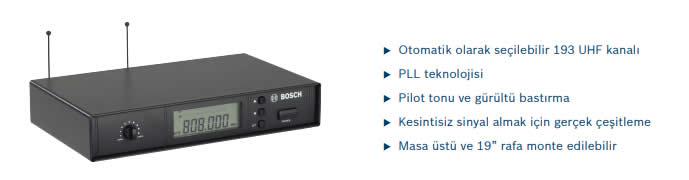 BOSCH-MW1-RX-F4 -Kablosuz-Mikrofon-Alıcı-(606-630 MHZ)