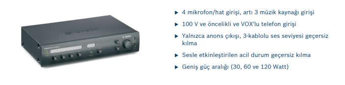 BOSCH-PLE-1MA030-EU-MİKSER-AMPLİFİKATOR-30W