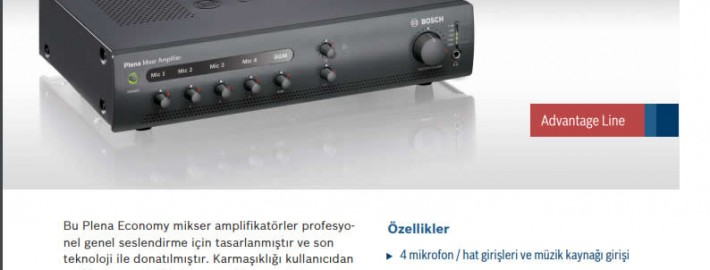 BOSCH-PLE-1ME120-EU-PLENA-MIXER-AMPLIFIER-120W
